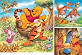 Ravensburger Jigsaw Puzzle - Disney Winnie The Pooh - 3 x 49 pieces in one box