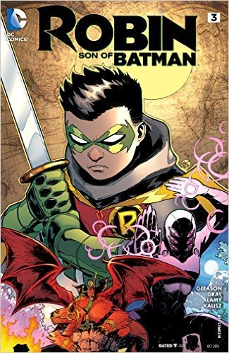 Robin Son of Batman #3 Comic Book PDF