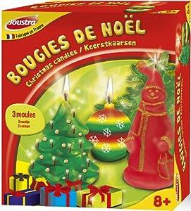 Joustra - 45001 - Kit de Loisir Créatif - Bougies de Noel