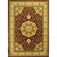 Traditional Area Rug Design Elegance #206 Burgundy