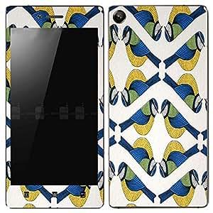Theskinmantra Symmetric Bird Lenovo Vibe Shot mobile skin