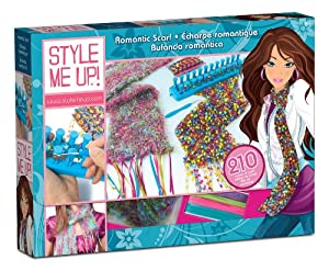 Style Me Up Romantic Scarf Knitting Kit Toys Games