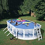 Splash Pools 24-Feet by 12-Feet by 48-Inch Complete Famliy Pool-Package