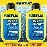 2x Rain X Regenabweiser 200ml Auto Scheibenreiniger...