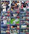 Atlanta Braves 2015 Topps MLB Baseball Regular Issue Complete Mint 23 Card Team Set with Nick Markakis, Freddie Freeman Plus