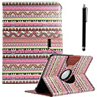 Galaxy Tab 3 Case, Tabl 3 10.1 Case ULAK PU Leather 360 Rotating Case Cover for Samsung Galaxy Tab3 10.1 Inch 2013 Version Tablet P5200 P5210 with Auto Sleep/Wake function (OVERDOSE)(NOT Fit Note 10.1)