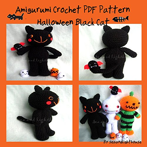 Amigurumi Black Cat Pattern : Download