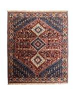 CarpeTrade Alfombra Persian Yalameh (Rojo/Azul/Multicolor)