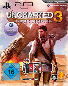 Uncharted 3: Drake's Deception + Sony Bluetooth Headset - [PlayStation 3]
