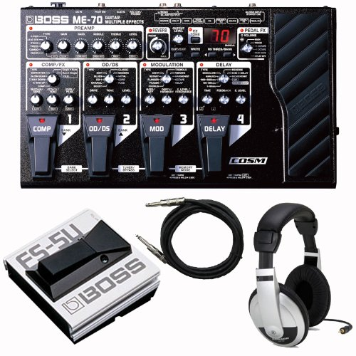 Buy Cheap Boss ME-70 Guitar Multi Effects Processor Footswitch Headphones