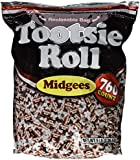 Tootsie Roll Midgees Candy 5 Pound Value Bag 760 Pieces