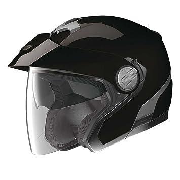 Nolan - Casque - N40 CLASSIC PLUS N-COM - Couleur : Noir - Taille : L