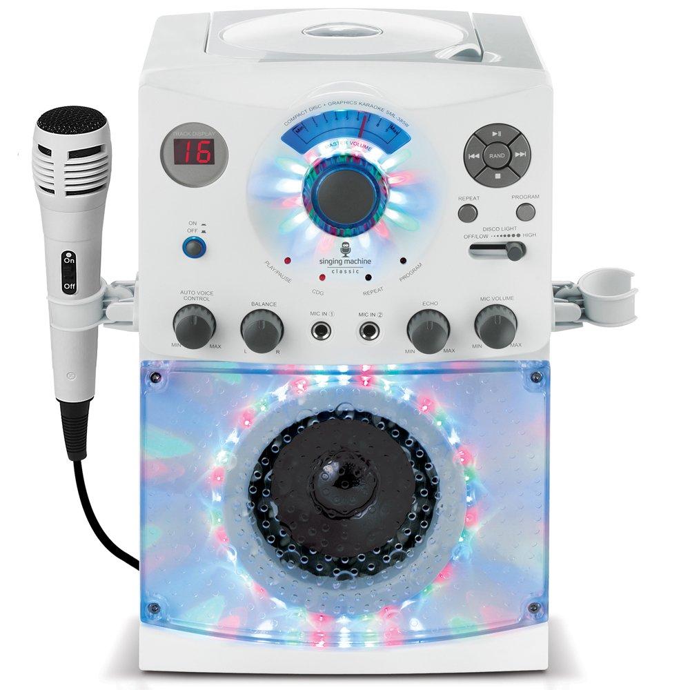The Singing Machine Sml 385w Disco Light Karaoke System Ebay