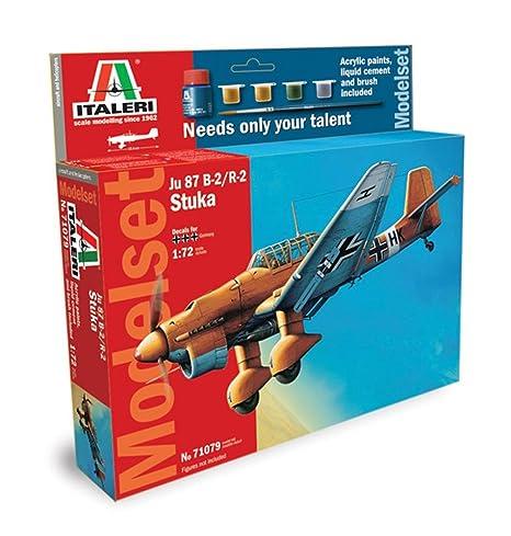 Italeri - I71079 - Maquette - Aviation - Junkers JU87B-2 Stuka - Echelle 1:72