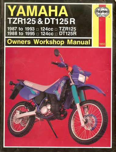 Yamaha TZR125 and DT125R Service and Repair Manual (Haynes Manuals)