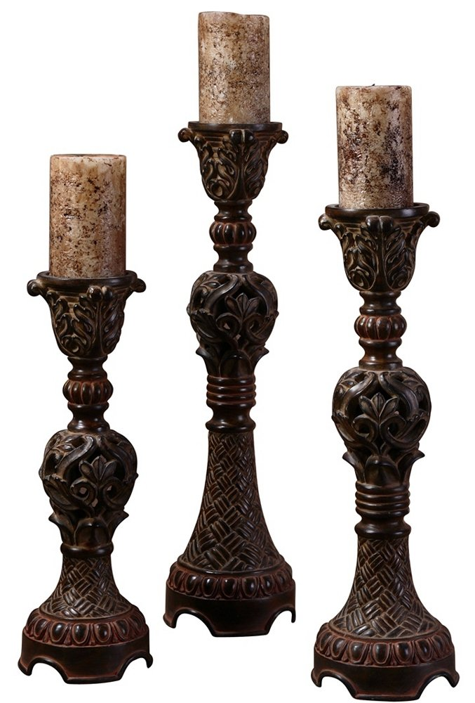 Uttermost Rosina Candleholders-Set of 3