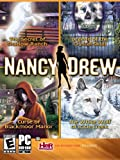 Nancy Drew 4 Pack-Secret of Shadow Ranch, Curse of Blackmoor Manor, White Wolf of Icicle Creek, Legend of the Crystal Skull - Windows (select)