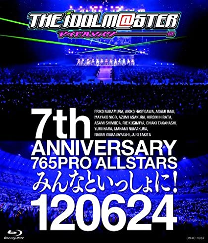 THE IDOLM@STER 7th ANNIVERSARY 765PRO ALLSTARS �ߤ�ʤȤ��ä����! 120624 [Blu-ray]