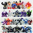 """Set of 22 DC Super Hero Squad Batman The Brave and the Bold 2.5"""" Action Figures Featuring Batman, Superman, Wonder Woman, Joker, Flash, Green Lantern, and Other Super Hero Figures"""