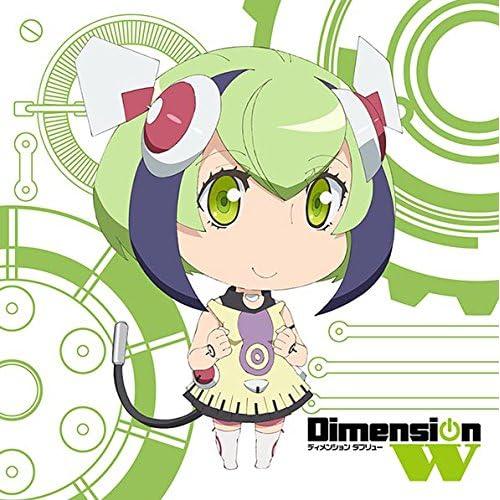 Dimension W もふもふミニタオル 百合崎ミラ