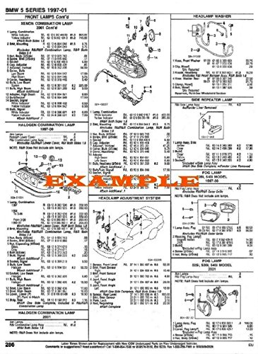 1989 - 1990 DODGE COLT WAGON PART NUMBERS, LABOR & PRICE ILLUSTRATED SHEETS