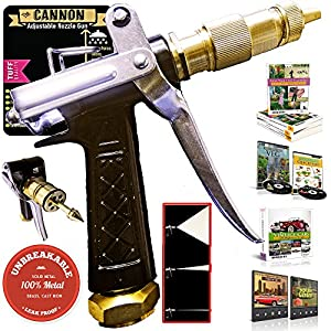 OutbackTUFF® 100% METAL Hose Nozzle Sprayer ~ High Power Pressure Washer Gun ~ Garden / Auto / Deck from OutbackTuff Tools Co®
