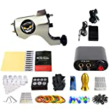 RWANG Complete Tattoo Kit Machine Guns Inks Power Supply Foot Pedal Needles Man's Gift (TK105-38)