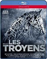 Berlioz : Les Troyens. Antonacci, Hymel, Westbroek, Capitanucci, Pappano. [Blu-ray]