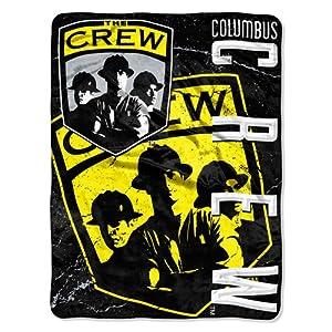 MLS Concrete Columbus Crew 46 X 60 Micro Raschel Throw by Northwest