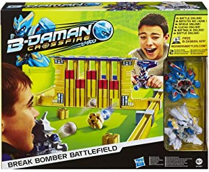 B-Daman - A4464E350 - Jeu De Société - Break Bomber Battle Set