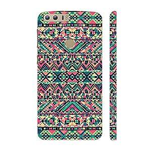Enthopia Designer Hardshell Case Pink Splash Back Cover for Huawei Honor 8