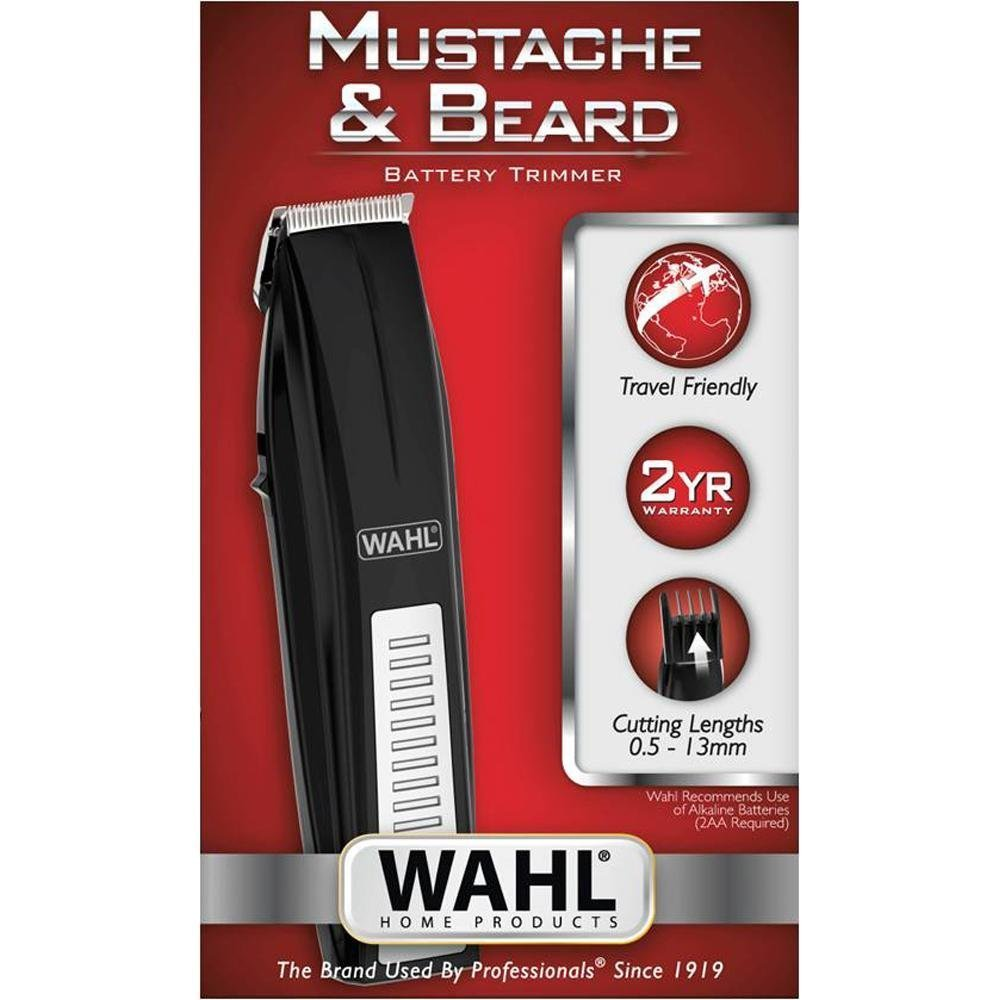 Wahl Moustache & Beard battery Trimmer 05537 -4424