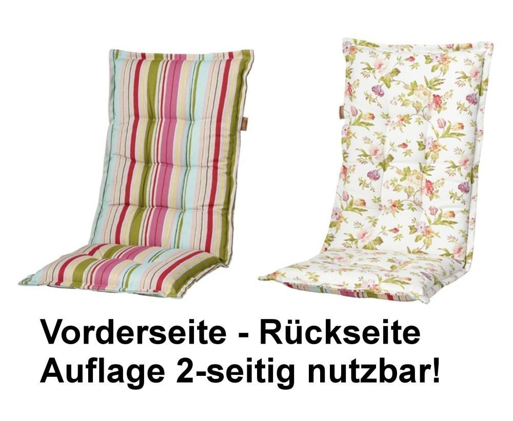 Madison 7EXELC265 Auflage Dessin Lilly für Bank 75% Baumwolle 25% Polyester