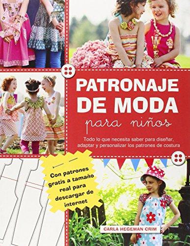 PATRONAJE DE MODA PARA NIÑOS