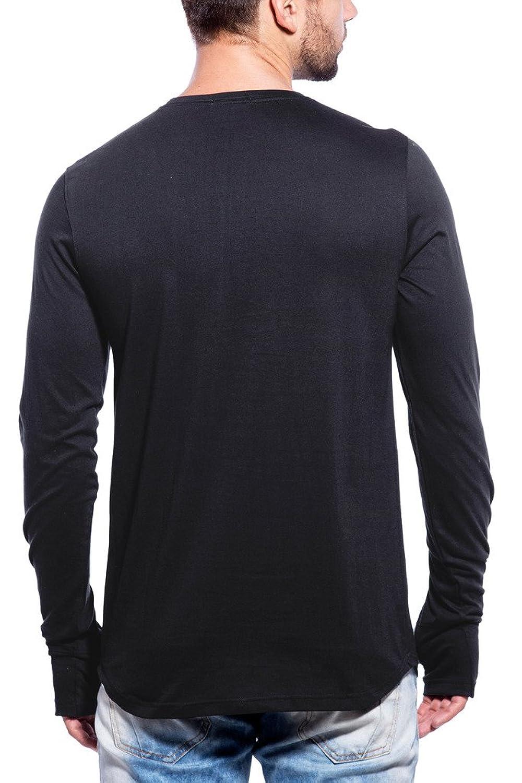 Black t shirt pic - Maniac Mens Fullsleeve Round Neck Black Cotton Tshirt Amazon In Clothing Accessories