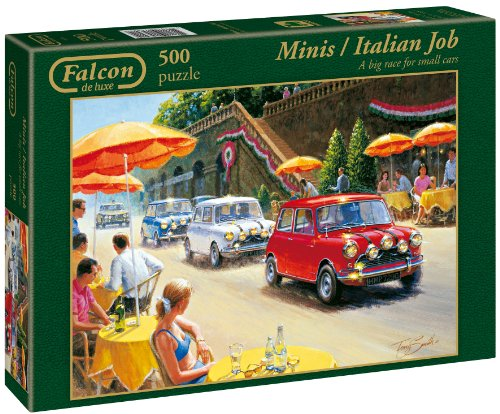 Cheap Falcon MINIs / Italian Job – 500pc Jigsaw Puzzle by Falcon (B000FCURNI)