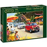 Falcon De Luxe - Transport Collection - The Italian Job 500 Piece Jigsaw Puzzleby Falcon Deluxe