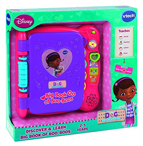 Doc Mcstuffins Discover And Learn Big Book Of Boo Boos