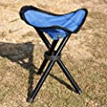 San Tokra Mini Portable Outdoor Folding Tripod Stool Camping Fishing Picnic Chair, Small provided by San Tokra