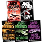 Jack Higgins Jack Higgins 5 Books Collection Pack Set RRP: £34.95 (Bad Company, A Fine Night For Dying, Khufra Run, The Tribe of Tiger, Dark Justice)