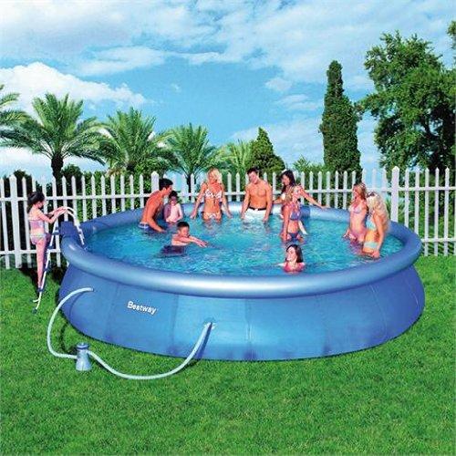 riesiger mobiler swimming pool 549cm schwimmbecken bassin