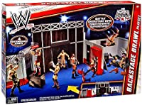 WWE RAW Backstage Brawl Playset Exclusive from Mattel