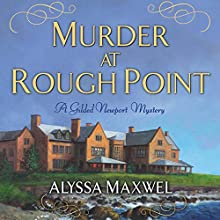 Murder at Rough Point Audiobook by Alyssa Maxwell Narrated by Eva Kaminsky