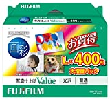 FUJIFILM 写真用紙 画彩 光沢 L 400枚 WPL400VA ランキングお取り寄せ