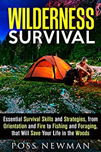 Wilderness Survival: Essential Survival Skills and Strategies, from Orientation and Fire, to Fishing and Foraging, that Will Save Your Life in the Woods ... Survival Guide & Bushcraft Survival)