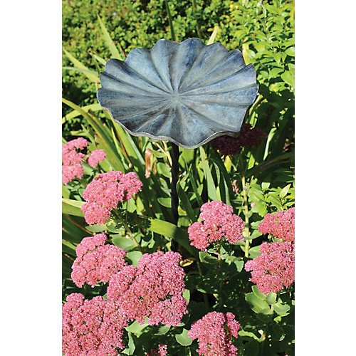 Achla Designs Lily Leaf Birdbath, Large