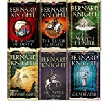 Bernard Knight Crowner John Mystery collection 6 Books set. (The Noble Outlaw, the Elixir of Death, the Manor of Death, the witch hunter, the Tinner's corpse and the Grim reaper)