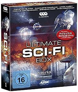 Ultimate Sci-Fi Box - Boxset mit 3 SciFi-Hits und 1 Bonus-DVD: Battleforce, The Ark, Immortal [3 Blu-rays + 1 Bonus-DVD]