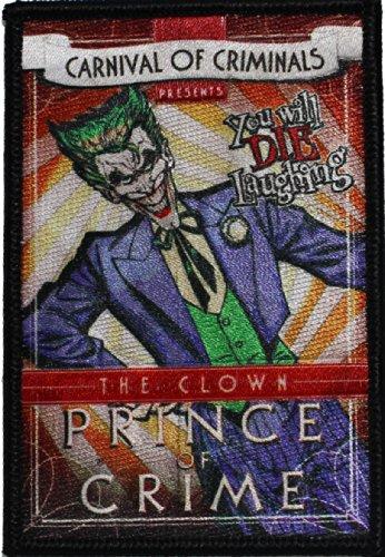 Batman DC Comics Joker Patch