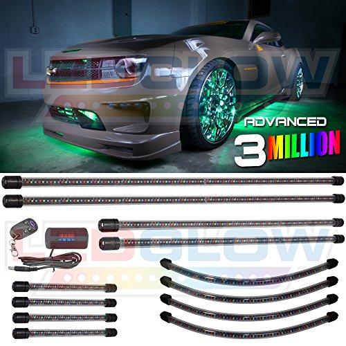 Advanced 3 Million Underbody, Wheel Well & 4Pc Interior Lighting Package